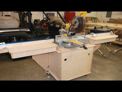 Build The Fine Woodworking Miter Saw Station Pt. 1 video