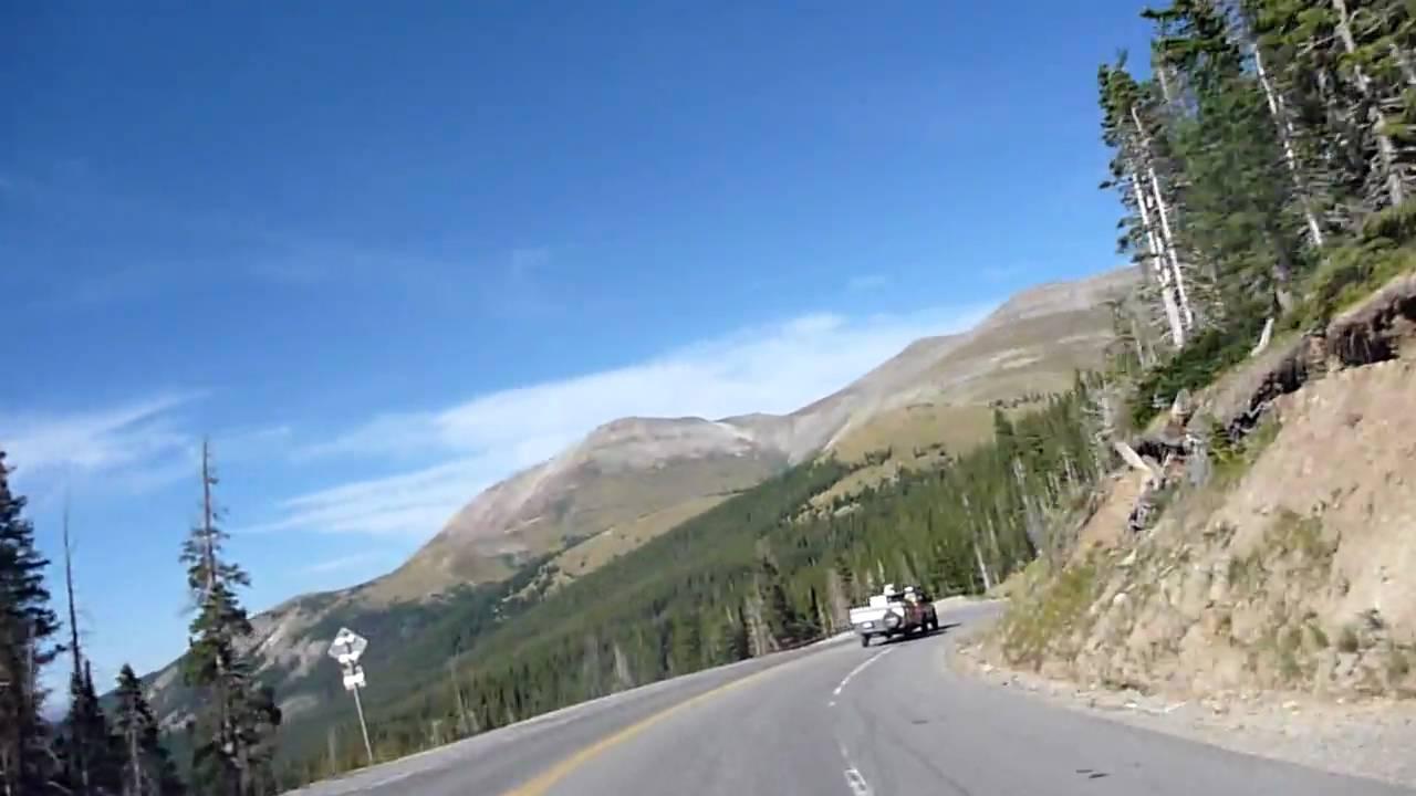Hoosier Pass Loop Coming Down From Hoosier Pass