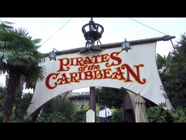 Pirates of the Caribbean at Disneyland Paris Full POV Ride Experience w/ Queue - October 2014 HD