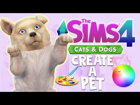 CREATING THE CUTEST PUPPY! | THE SIMS 4 CATS & DOGS CREATE A PET (FIRST LOOK)
