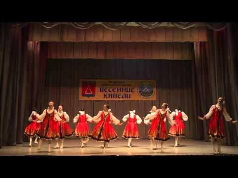 Ансамбль танца Грацияг.Чехов.,танецПодплясочка,юниоры(13-14лет)