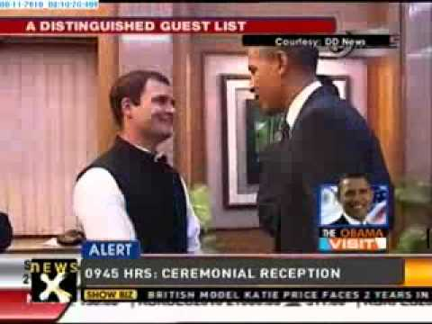 Obamas dine with Indian PM