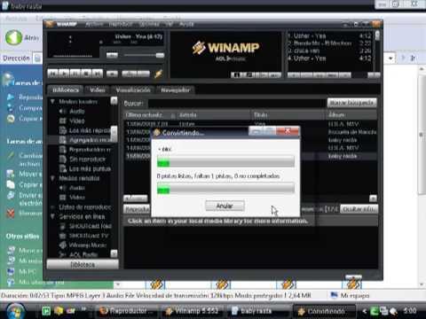 comprimir canciones con winamp(tuto)