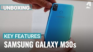 Samsung Galaxy M30s unboxing and key features