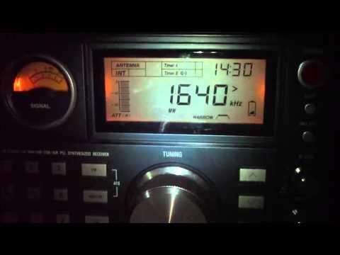 1640 khz Radio Hosanna , Isidro Casanova , Buenos Aires , Argentina