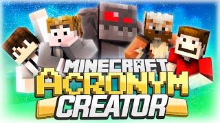 Minecraft: Acronym Fun! (Falling Off Chair)