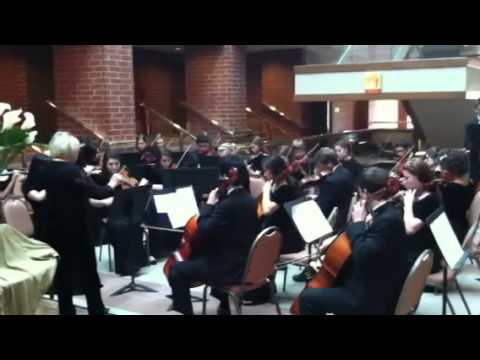 Collegedale Academy Orchestra playing Hoe Down