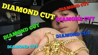 Diamond CUT GOLD Chains