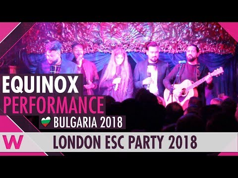"Equinox cover Jessie J's ""Who You Are"" LIVE @ London Eurovision Party 2018"