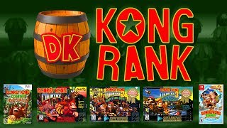 KONG RANK: Which Donkey Kong Country is the Best?