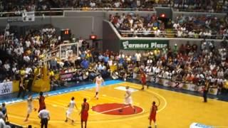 PBA Finals 2012 Game 5 J.Yap Buzzer Beater