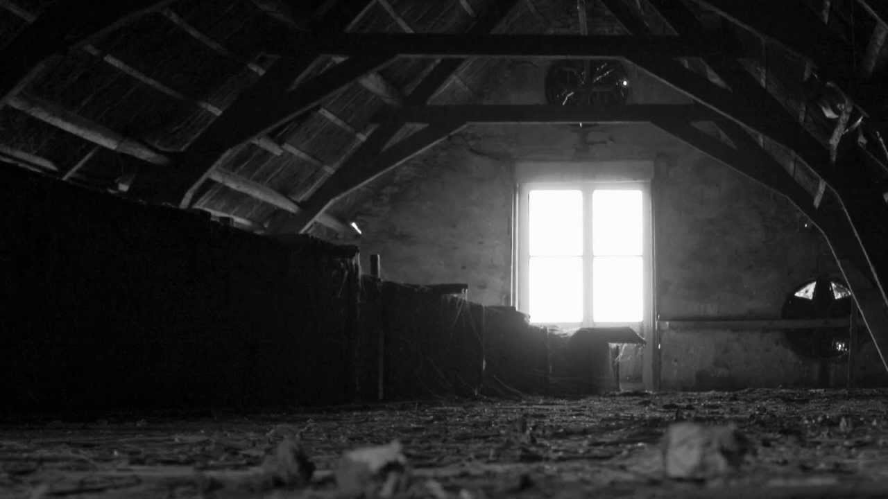 """white attic bedroom ideas - Haunting Mysterious Music """"The Dusty Attic"""""""