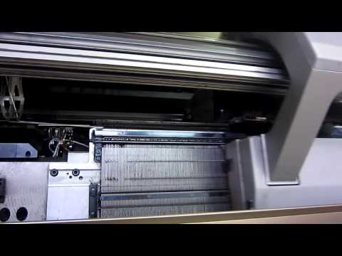 Flat knitting machines - Textile and Leather Machinery