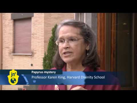 Ancient Gospel Says Mary was Jesus Christ's Wife: Harvard's Karen King Shows Coptic Papyrus Text