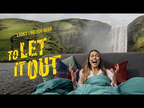 Promocionando el turismo en Islandia a grito pelado