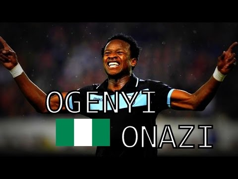 Ogenyi Eddy Onazi • Goals & Skills • S.S.Lazio and Nigeria • 2012-2014