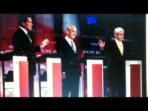 CNN South Carolina GOP Debate - Ron Paul is ALMOST Ignored Again!!! 1/19/12