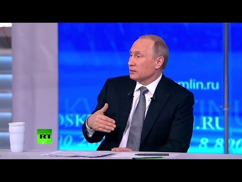 Putin annual Q&A session 2016 (FULL VIDEO)