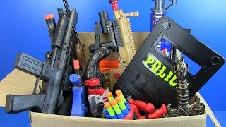 Box of Toys Guns Toy & Equipment Military Police Toys for Kids - 3/3