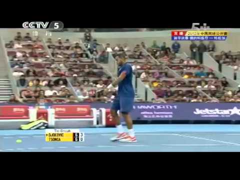 Final Full Match Novak DJOKOVIC vs Jo Wilfried TSONGA China Open 2012 Final Oct 7