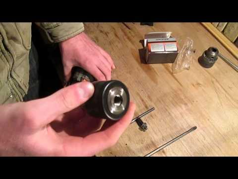 Видео как снять патрон с дрели