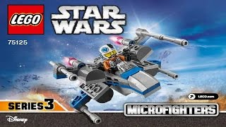 LEGO Star Wars 75125 Resistance X-Wing Fighter Microfighter (Instruction Booklet)