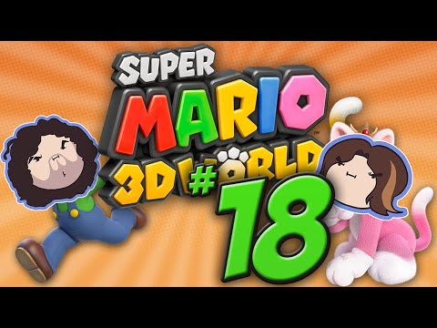 Super Mario 3D World: Helping Each Other? - PART 18 - Game Grumps