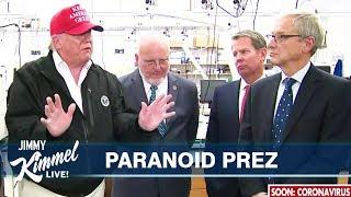 Donald Trump Terrified of Getting Coronavirus