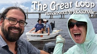 Rendezvous in Jacksonville: Currents, Tides & a Rescue | Great Loop Cruising, Episode 22