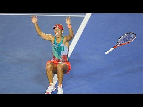 Match point: The moment Angelique Kerber won the Aus Open   Australian Open 2016