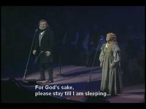 Ruthie Henshall played Fantine here in the 10th Anniversary Concert at the Royal Albert Hall London giving an amazingly moving performance.