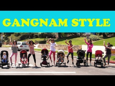 Baby Gangnam Style Parody (강남스타일) Feat. Baby Psy & La Moms! video