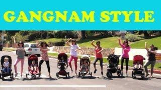 Nhac hai - Gangnam Style - phiên bản trẻ sơ sinh
