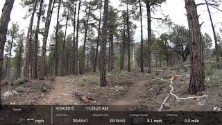 video Video of me starting my hike to Dripping Springs on the Highline Trail near Pine, AZ. Warning: I do encounter a dead deer near the end of this video, so please be aware that there is video...