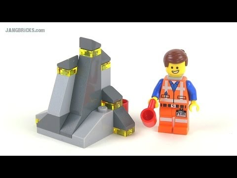 LEGO Movie 30280 Piece of Resistance promo polybag set Review!