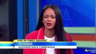 Rihanna Interview - Rihanna ft Shakira Can-t Remember to Forget You