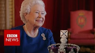 The Queen's advice on wearing a crown - BBC News