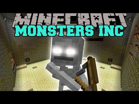 Minecraft: MONSTERS INC (8 WAVES OF INSANITY!) Mini-Game