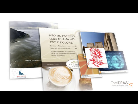 CorelDRAW® Home & Student Suite X7 - Video Tour