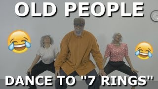 "Old People Dance to ""7 Rings"" 😂🔥👴🏾 