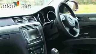Skoda Superb 2008 MSN Cars test drive