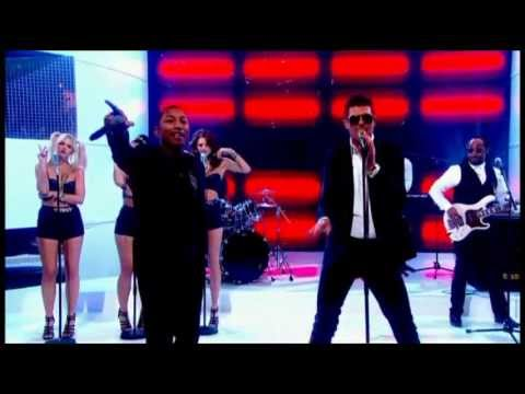 Robin Thicke - Blurred Lines ft TI  Pharrell Live ...
