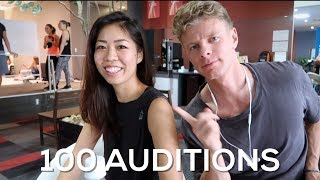 GOING THROUGH A 100 AUDITIONS - Bas Hollander - Vlog 147