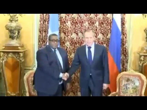 Somalia PM Omar Abdirashid meets with Russian FM Sergei Lavrov [FULL]