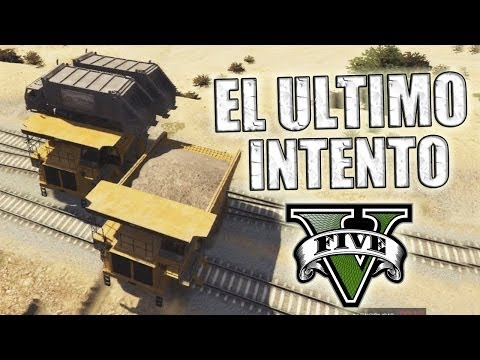 Gta V - El Ultimo Intento ¡¡fucking Tren De Los !%&$ - Grand Theft Auto 5 video