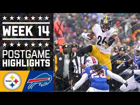 Steelers Vs Bills Nfl Week 14 Game Highlights