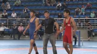 Спорт. Вольная борьба. Первенство Кыргызстана среди кадетов-2017. Часть 9