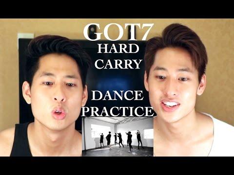 download lagu GOT7 - Hard Carry Dance Practice Reactio gratis