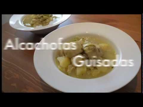 Alcachofas en olla rápida o express - Recetas ligeras