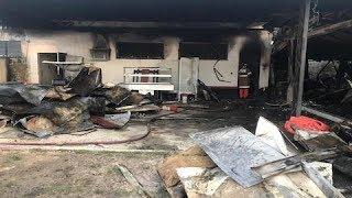 """""""Quando eu levantei, explodiu"""", diz sobrevivente de incêndio em CT do Flamengo"""